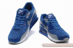 official photos 33a83 b14c3 nike air max 90 premium em unisex blue gray sneakers p 2676