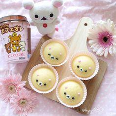 ฅ՞•ﻌ•՞ฅ Korilakkuma steamed buns by yuka (@hgsy430)