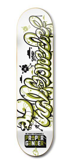 Skate Decks by Kendrick Kidd, via Behance