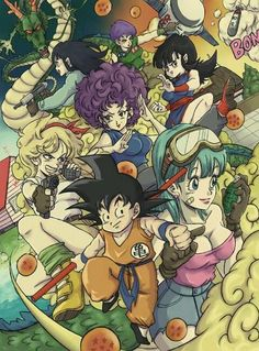 Dragon Ball. Damn Bulma Looking Fiiiine!