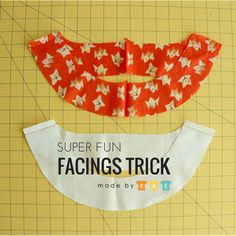 Facings are a great way to finish a neckline or armhole (bias binding is another way — see my 3 bias binding tutorials here!). I like to have beautiful facings without having to fold up and finish the lower edge, which can produce a visible line from the outside of your garment, and I learnedRead more...