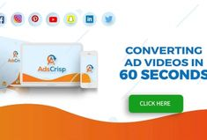 Adscrisp review – if you are ready to buy Adscrisp: 37-in-1 Video Ads Creation Suite, then please look at my honest review with adscrisp coupon & Bonuses. Marketing Tools, Digital Marketing, Facebook Canvas, Internet Entrepreneur, Twitter Video, Cloud Based, Lead Generation, Affiliate Marketing, Online Business