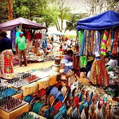 A world full of colour. ^Maasai Market
