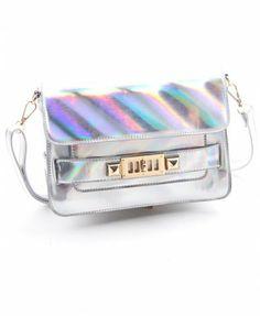 Illusion-colour Laser Shoulder Bag