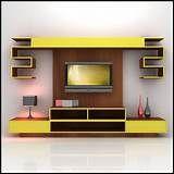 Modern Living Room Tv Wall Unit