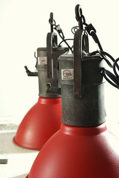 KITCHEN LAMP Hanging ORANGE Technical Modern by ReclaimDesignEVERI,