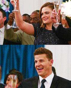 Bones and Booth on wedding Cam and Arastoo Bones Booth And Brennan, Bones Tv Show, David Boreanaz, Real Couples, Movies And Tv Shows, Nerdy, Most Beautiful, It Cast, Geek
