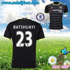 Maillot Du FC Chelsea (BATSHUAYI 23) Exterieur 2016-2017 Pas Cheres