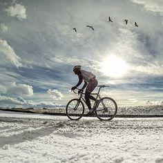 racen in de sneeuw