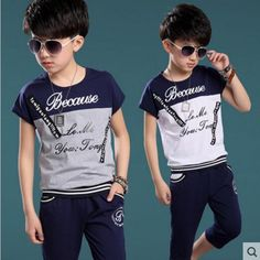 Check current price Summer Children Sets 2017 New Fashion Cotton O-Neck T-Shirt + Shorts Boys Clothing Set Kids Clothes Sport Suit Fit 5-10Y just only $14.99 with free shipping worldwide #boysclothing Plese click on picture to see our special price for you