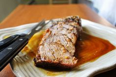 Little B Cooks: Chronicles from a Vermont foodie: Island Pork Tenderloin