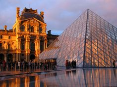The Louvre-Located in Paris, France.  Home to some of the most famous works of art known to man.  I highly recommend everyone tries to visit this place.