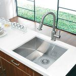 Alma 23 inch Undermount 16 Gauge Stainless Steel Kitchen Sink