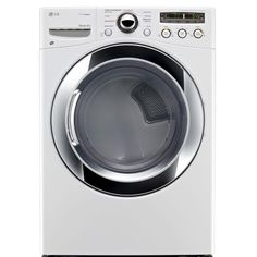 LG Electronics 7.3 cu. ft. Electric Dryer with Steam in White-DLEX3250W at The Home Depot