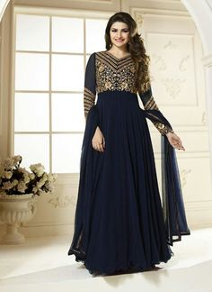 Shop Online for Kaseesh designs in Panjabi suits, Pakistani salwar kameez & Churidar Suits at Asian Couture. UK Latest Bollywood Prachi Desai In long anarkali Suits, Dresses & Indian Gowns in Party Wedding embroidery salwar kameez & georgette Long Anarkali, Anarkali Dress, Anarkali Suits, Indian Anarkali, Gown Dress, Indian Fashion Dresses, Pakistani Dresses, Indian Outfits, India Fashion
