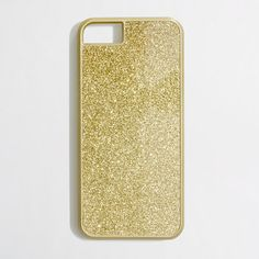 Sometimes a girl just needs a little sparkle in her life.    Factory glitter phone case for iPhone 5