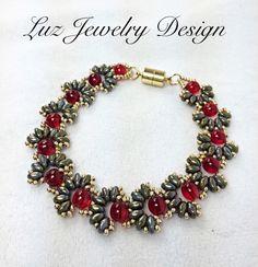 Beadwork Bracelet - Luzjewelrydesign