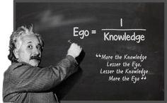 Ego Equals the Inverse of Knowledge?   David Eldredge   LinkedIn