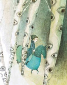 """Élodie Nouhen illustration from """"Tutte le Fiabe"""". Children's Book Illustration, Illustration Children, Illustrations And Posters, Design Crafts, Childrens Books, Book Art, Fairy Tales, Drawings, Artwork"""