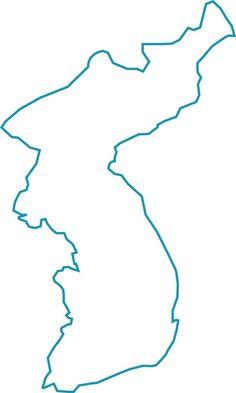 [대한민국 지도][한국 지도][지도 도안]우리나라 지도 : 네이버 블로그