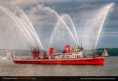 FDNY Fire Boat John J Harvey, NY ★。☆。JpM ENTERTAINMENT ☆。★。