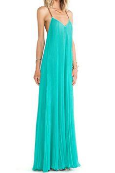 Open Back Cami Dress