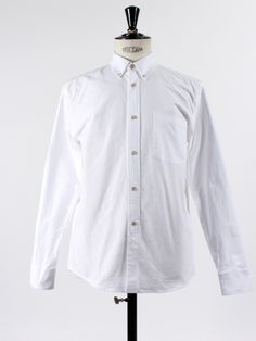 1940's Heavy White Oxford by Our Legacy