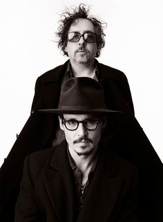 Tim Burton & Johnny Depp I love these men! I grew up watching them!!! I love them and always will!! Thank you for inspiring me to be myself!! I love you guys!