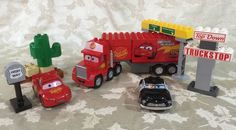 Duplo Lego Mack's Road Trip (5816) Retired EUC Disney Pixar Cars #LEGO