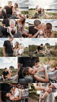 Casual and charming summer session – Style & Select 6 Month Baby Picture Ideas, Summer Family Pictures, Family Photos With Baby, Outdoor Family Photos, Fall Family Photos, Outdoor Baby Pictures, Summer Family Portraits, Extended Family Pictures, Baby Girl Pictures