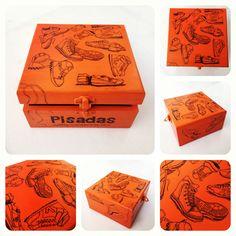 Box dedicated to a great sneakers website: pisadasmyblog.wordpress.com