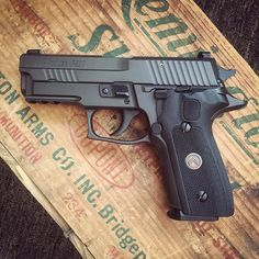 This Sig Sauer P229 Legion 9mm. Loading that magazine is a pain! Get your Magazine speedloader today! http://www.amazon.com/shops/raeind