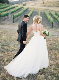 Wedding dress back styles we love: http://www.stylemepretty.com/2014/07/22/wedding-dress-back-styles-we-love/ | Photography: www.josevilla.com