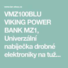 Univerzální nabíječka Viking na tužkové baterie AA, modrá Viking Power, Lany, Vikings, The Vikings, Viking Warrior