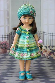 Наряд для куколок ростом 32 - 34 см. От Дианны Эффнер и Paola Reina. / Одежда для кукол / Шопик. Продать купить куклу / Бэйбики. Куклы фото. Одежда для кукол