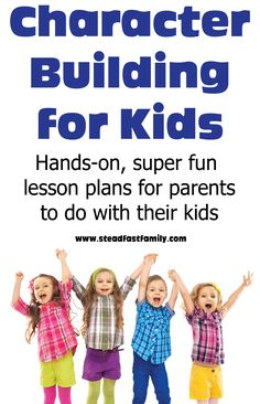 Character building for kids resource. Awesome hands on and fun lesson plans for parents. Kid Character, Character Education, Effective Classroom Management, Building For Kids, Kids Behavior, Bible For Kids, Kids Hands, Christian Parenting, Lessons For Kids