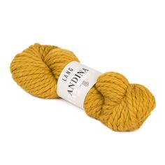 Lang Yarns Andina - 100% baby alpaca 10mm  Super chunky alpaca! This mighty yarn knits up on 10mm needles for a super fast, soft and warm result! Lang Yarns Andina is made from 100% baby alpaca and comes in a range of stunning shades with a slight sheen. Perfect for accessories, homeware and fabulous super chunky patterns.