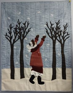 Catch a Falling Snowflake:  quilt pattern by Lakadaisies