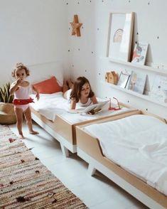 Toddler Bedroom Ideas#bedroom #ideas #toddler Montessori Bedroom, Montessori Toddler Rooms, Girls Bedroom, Bedroom Ideas, Bedroom Small, Twin Toddlers, Big Girl Rooms, Boy Rooms, Best Mattress