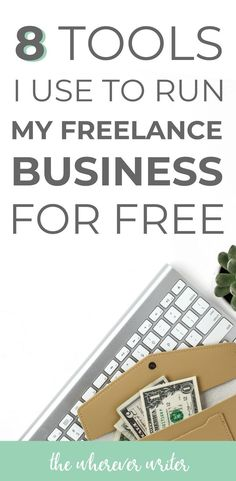 Looking for freelance business tools that don't cost a fortune? All 8 of these software are totally FREE to use! Bookkeeping, invoicing, time tracking, and more! Job Freelance, Freelance Writing Jobs, Make Money Writing, How To Make Money, Writing Tips, Design Thinking, Business Tips, Online Business, Business School