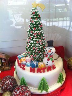 xmas cake. Kerst taart, christmas