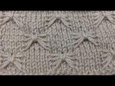 Kelebek Şekilli Örgü (Motif) Nasıl Yapılır? - örgü modelleri - butterfly stitch - YouTube