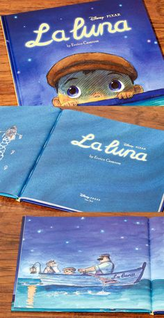 La Luna by Enrico Casarosa. Originally a Pixar Digital Short.