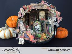 Rare+Oddities+Pumpkin+Shadow+Box%2C+Rare+Oddities%2C+by+Danielle+Copley%2C+produc+by+Graphic+45%2C+photo+1.jpg (1600×1200)