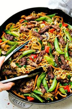Garlic Beef and Veggie Ramen Recipe on Yummly. @yummly #recipe