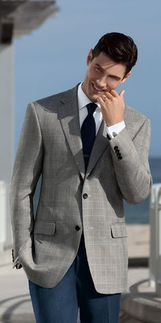A wool/silk blend will keep you cool through summer and even early fall.