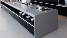 349 - Cozinha Granito Cinza Absoluto