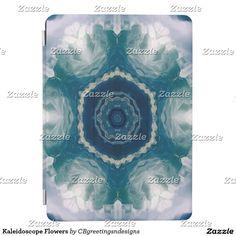 Kaleidoscope Flowers iPad Air Cover