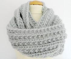 patron gratuit pour tricoter un snood
