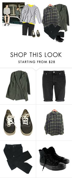 """""""Well, Okay"""" by superlivie003 ❤ liked on Polyvore featuring Topman, Vans, My Mum Made It, Marc by Marc Jacobs and Converse"""